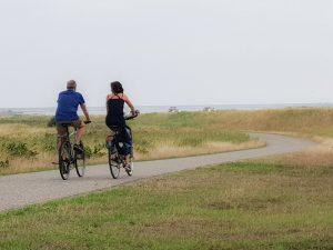 Fint omgeving fietsen